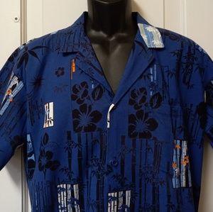 Men's Vintage Op ocean Pacific Hawaiian Shirt